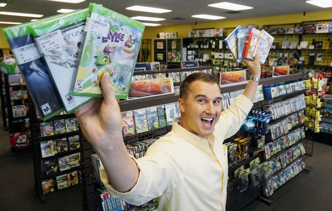 Kevin McMullen launched Oogie Games in 2007; there are now six local stores. (Dave Jarosz)