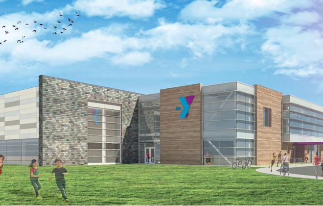 Architect's rendering for new Lockport Family YMCA. (Courtesy CJS Architects)