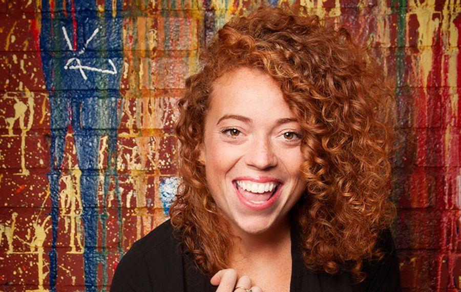Michelle Wolf headlined the annual White House Correspondents Association dinner -- and personified the problems the event poses. (Photo by Mindy Tucker)