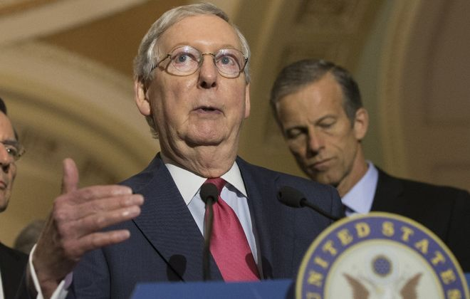 Senate Majority Leader Mitch  McConnell is pressing the Congressional Budget Office for a quick analysis of the Graham-Cassidy bill. (Washington Post)
