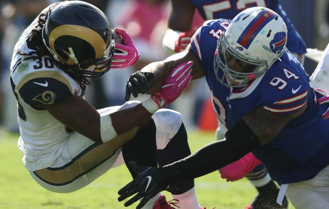 Defensive tackle Jerel Worthy is ready to return for the Buffalo Bills after missing three games with a concussion. (James P. McCoy/Buffalo News)