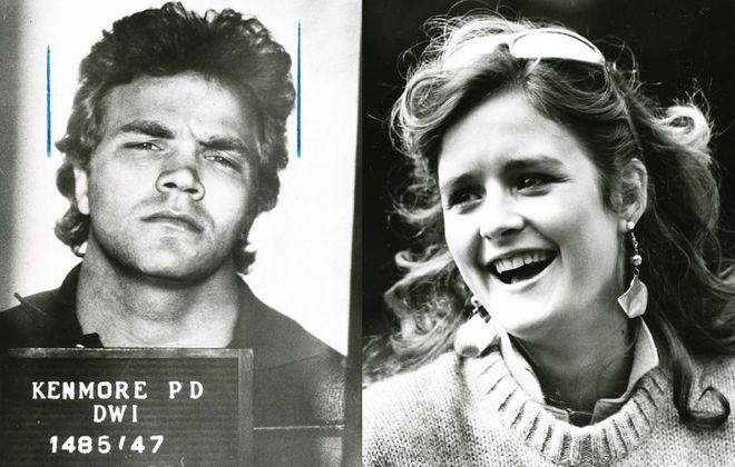 1985 photographs of David Walentyowicz and Sheila Curtin. (News file photos)