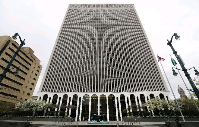 M&T Bank's headquarters. (Mark Mulville/Buffalo News)