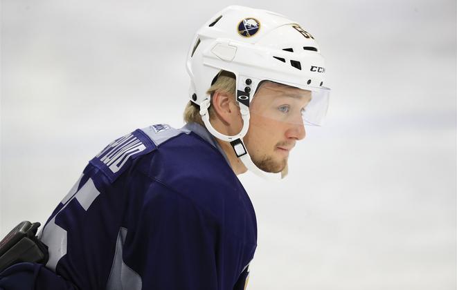 Rasmus Asplund has returned to the Rochester Amerks. (Harry Scull Jr./News file photo)