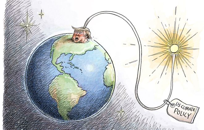 Adam Zyglis: Earth Day