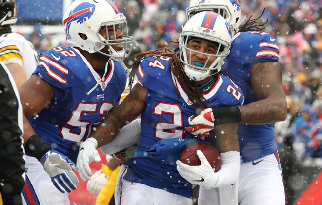The last time the Bills had the No. 10 overall pick, Stephon Gilmore was their guy.  (James P. McCoy/Buffalo News)