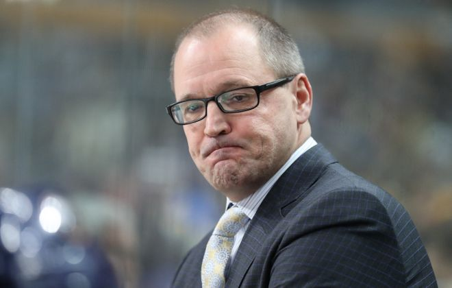 The Buffalo Sabres fell to the Tampa Bay Lightning in the last game of the season. (James P. McCoy/Buffalo News)