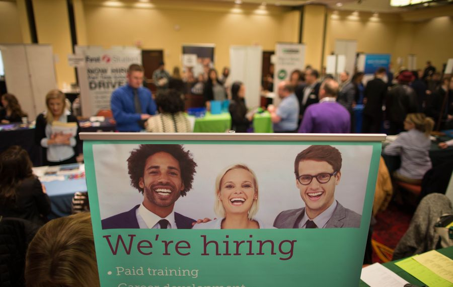Unemployment fell to 5 percent locally during January. (Derek Gee/News file photo)