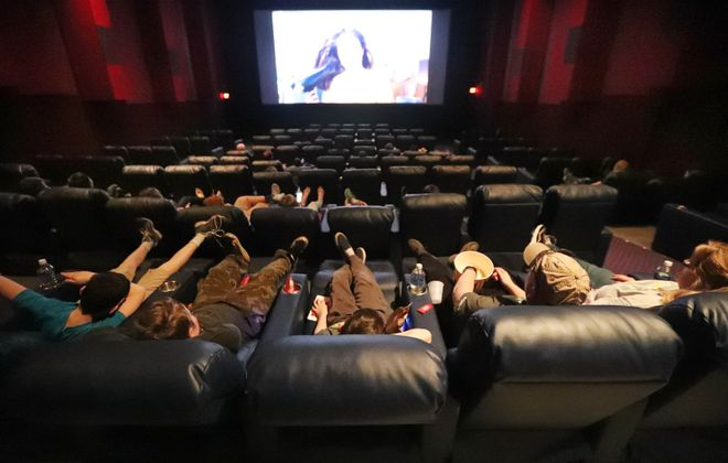 Although many events are being canceled, you can still see a film at local movie theaters. (Sharon Cantillon/Buffalo News)