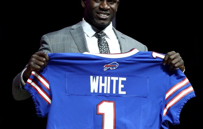 Two respected NFL analysts had high praise for the Bills selection of Tre'Davious White. (Getty Images)