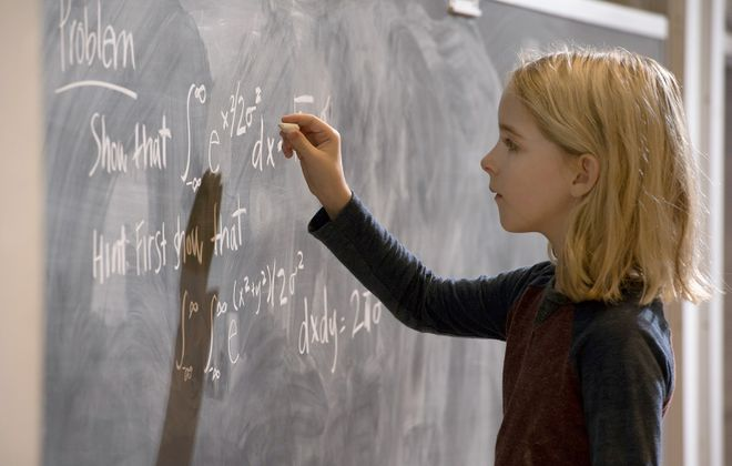 """Ten-year-old Mckenna Grace is an actress who plays a math genius in the """"Gifted."""" (Wilson Webb, Fox Searchlight)"""