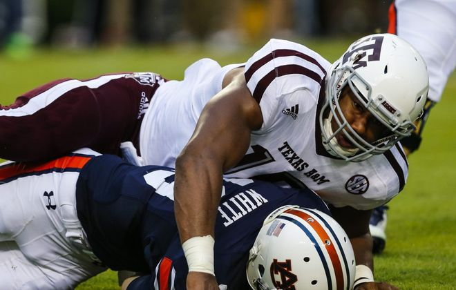 The Cleveland Browns didn't overthink their No. 1 pick, taking highly regarded Texas A&M pass-rusher Myles Garrett (Getty Images)