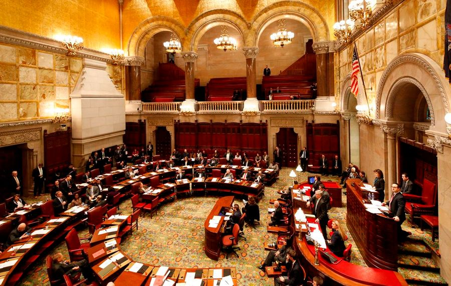 Despite years of gerrymandered district lines, Republicans lost control of the New York State Senate in last week's elections. (Derek Gee/Buffalo News)