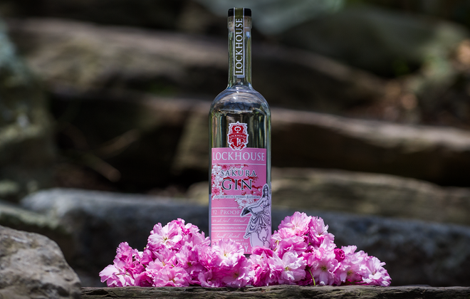 Lockhouse Distillery has a new Sakura Gin that is  made from cherry blossoms collected from throughout the Olmsted Park System