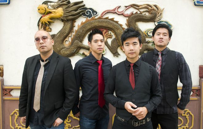 The Slants will perform at Buffalo Iron Works.