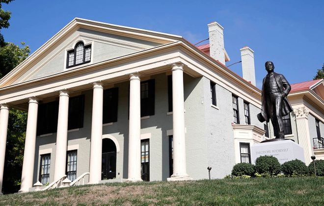 The Wilcox Mansion, where President Theodore Roosevelt was inaugurated in 1901 following the assassination of President William McKinley, is now designated as a National Park. (Derek Gee/News file photo)