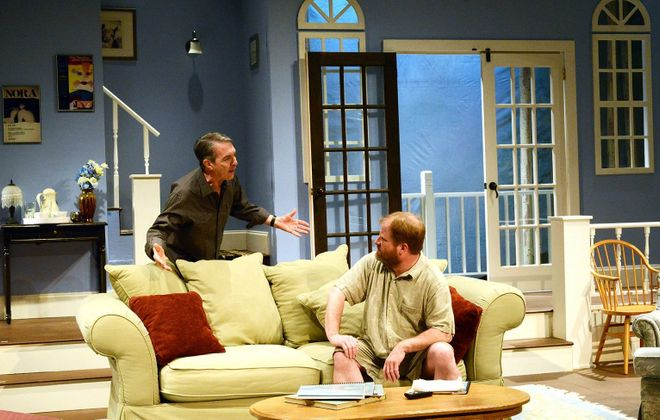 "A scene from the Road Less Traveled Production of ""The Country House"" by Donald Margulies."