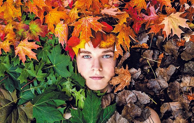 "Kenan Centere all-High Best color winner ""Child of Seasons"" by Trisha Picklehaupt, senior at Williamsville Eastild"