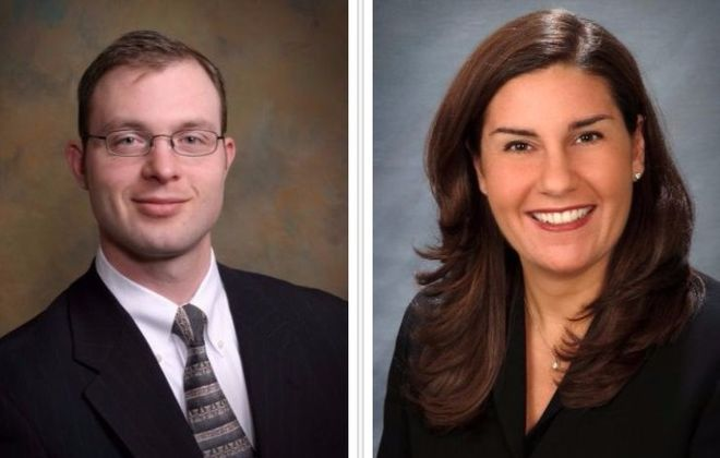Jeremy A. Colby and Amy Habib Rittling are seeking the lifetime federal court judge appointment.