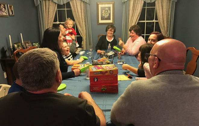 Family game night is the best night. (Mary Friona-Celani/Special to The News)