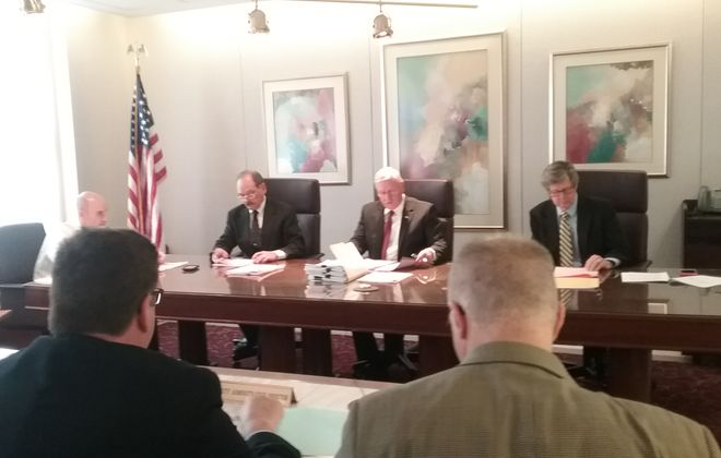 With the resignation of  E. Thomas Jones from the board of the Erie County Water Authority, the County Legislature needs to commit to continue the push toward professional management of the organization. (News file photo)