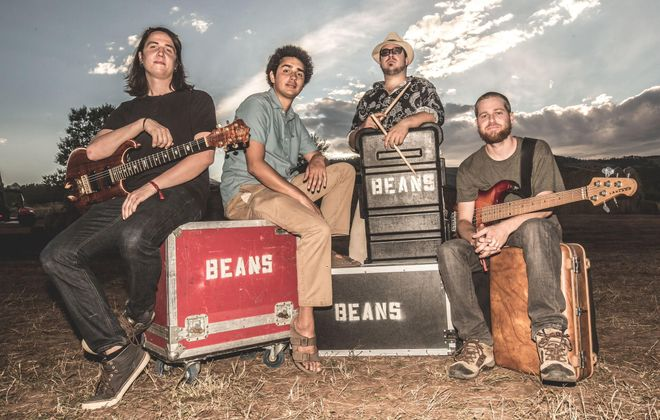 The Colorado band Magic Beans performs at Buffalo Iron Works.