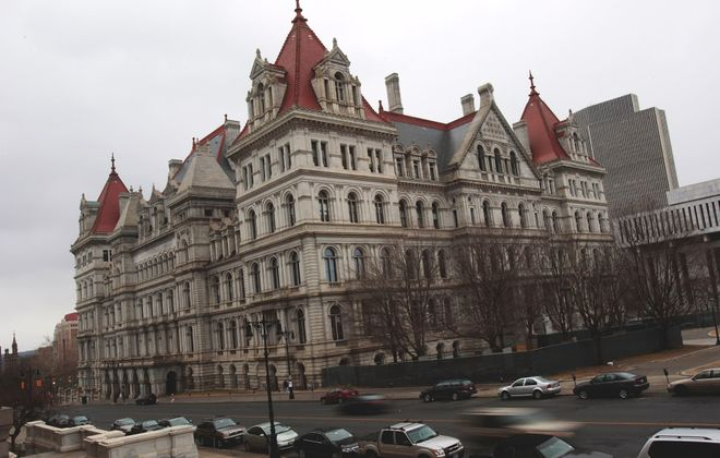 Given that state legislators and Gov. Andrew M. Cuomo were largely operating in the dark, the state budget they agreed to this week is generally sensible, though the expansion of prevailing wage requirements is troubling. (Getty Images)
