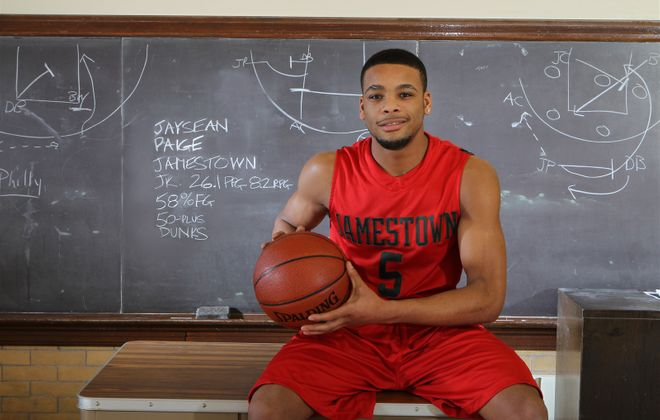 Jaysean Paige earned All-Western New York first team honors during the 2010-11 season with Jamestown. (James P. McCoy/News file photo)