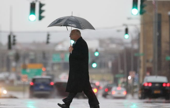 After a streak of 10 days with no precipitation, a wet week is forecast in Buffalo. (Sharon Cantillon/Buffalo News file photo)