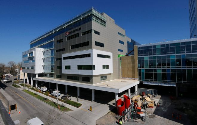 The Conventus medical and research building on the Buffalo Niagara Medical Campus will get a cafe. (Derek Gee/Buffalo News file photo)