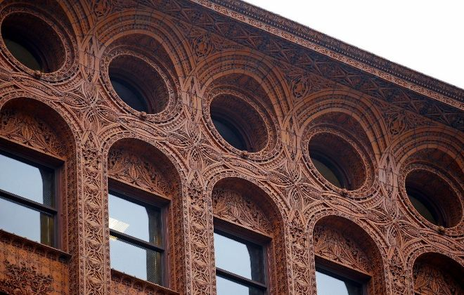 Hodgson Russ LLP, Buffalo's largest law firm, is based in the Guaranty Building. (Robert Kirkham/Buffalo News)