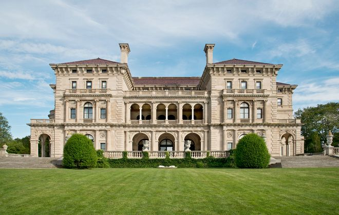 The grand Breakers was built by the Vanderbilt family. The 70 room Italian Renaissance-style palazzo was designed by Richard Morris Hunt and inspired by the 16th century palaces of Genoa and Turin. (Gavin Ashworth)