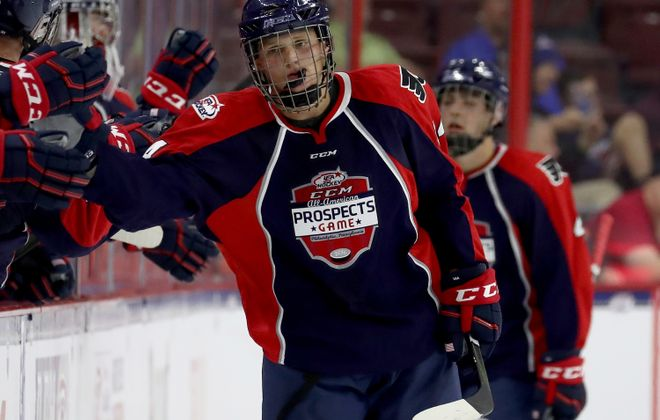 Casey Mittelstadt played in the All-American Prospects Game last year. (Getty Images)