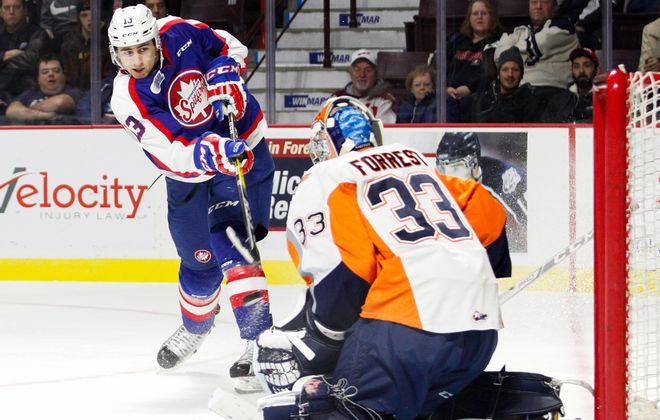 Gabriel Vilardi is dangerous when he gets close to the goaltender. (Getty Images)
