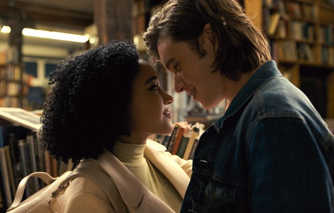 "Amandla Stenberg and Nick Robinson star in ""Everything, Everything."""