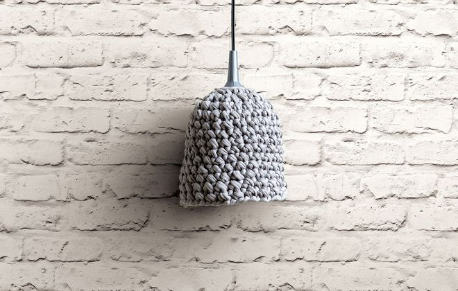 Contemporary white faux-brick industrial chic wallpaper by Walls Republic.