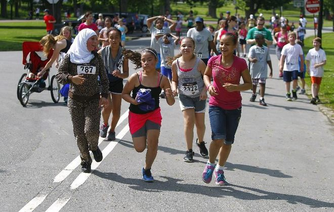 Registration for this year's Independent Health Kids Run ends May 15. (John Hickey/Buffalo News file photo)