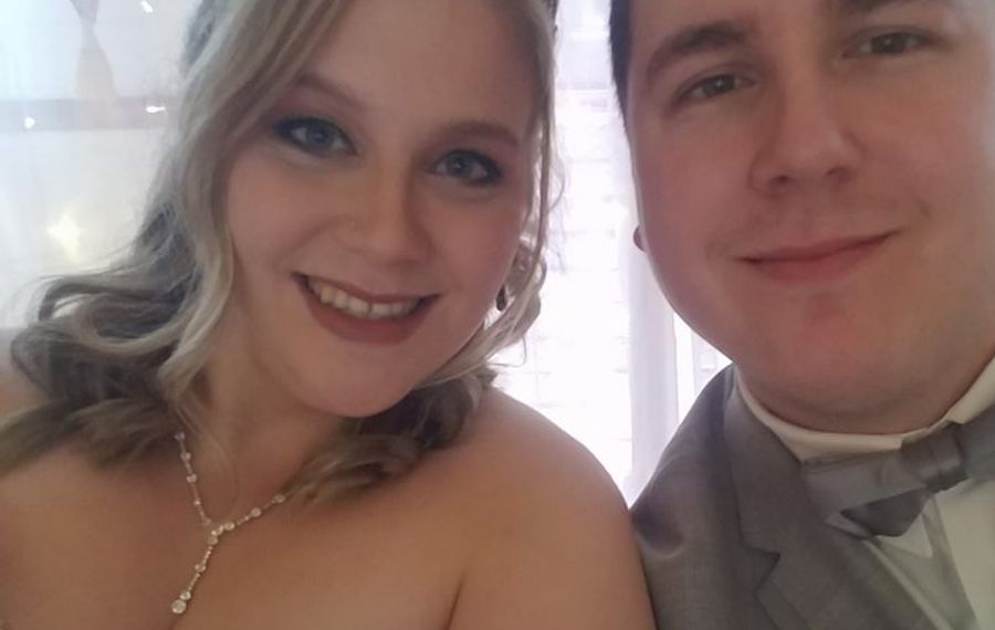 Melissa Scoma and Christopher Tatro marry at Tonawanda Castle