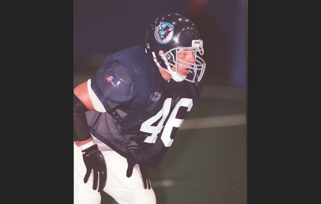Sean P. Doctor played for the Buffalo Destroyers. (News file photo)