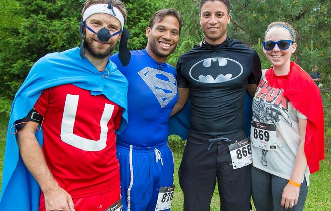 The Superhero 5K and Wellness Walk will take place June 7 in and around Delaware Park. (News file photo)