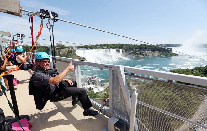 Go ziplining in Niagara Falls — or at Holiday Valley. (Sharon Cantillon)