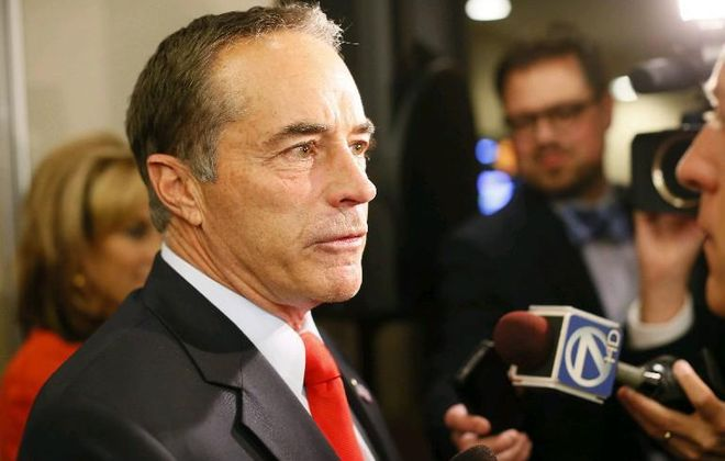 Rep. Chris Collins has left the board of Innate Immunotherapeutics. (Derek Gee/News file photo)