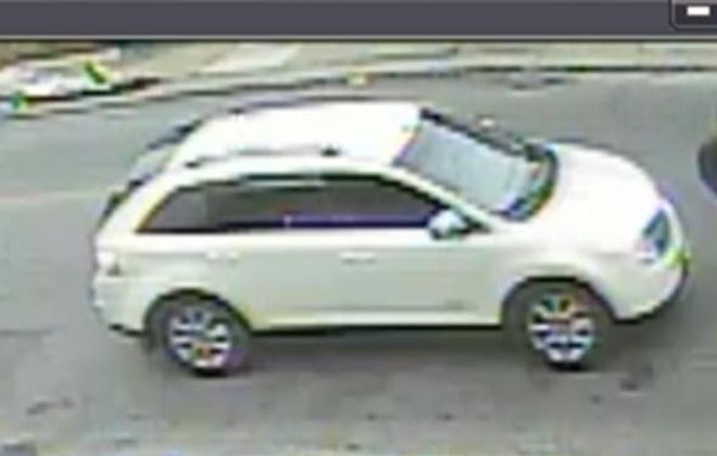 Buffalo police released this image of the car suspected of being involved in a fatal hit-and-run incident on Bailey Avenue on May 26. (Provided by Buffalo Police Department)
