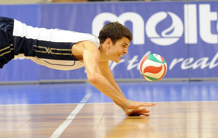 U.S. Olympian Matt Anderson tops a long list of elite men's volleyball talent produced in Western New York high schools. (Photo courtesy of Matt A. Brown/USA Volleyball)