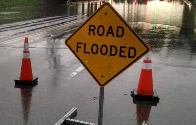 Flood warning issued for Lake Ontario shoreline; Little Valley hit by flooding