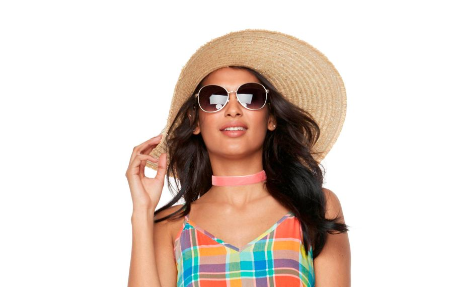 Floppy hat is a summer essential. Photo courtesy Kohl's.