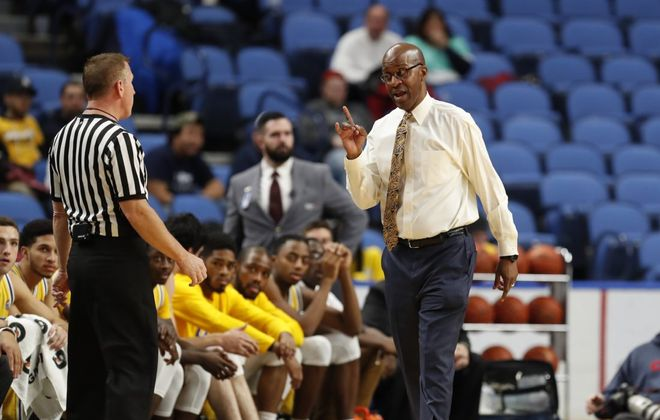 Canisius men's basketball coach Reggie Witherspoon. (Harry Scull Jr./News file photo)