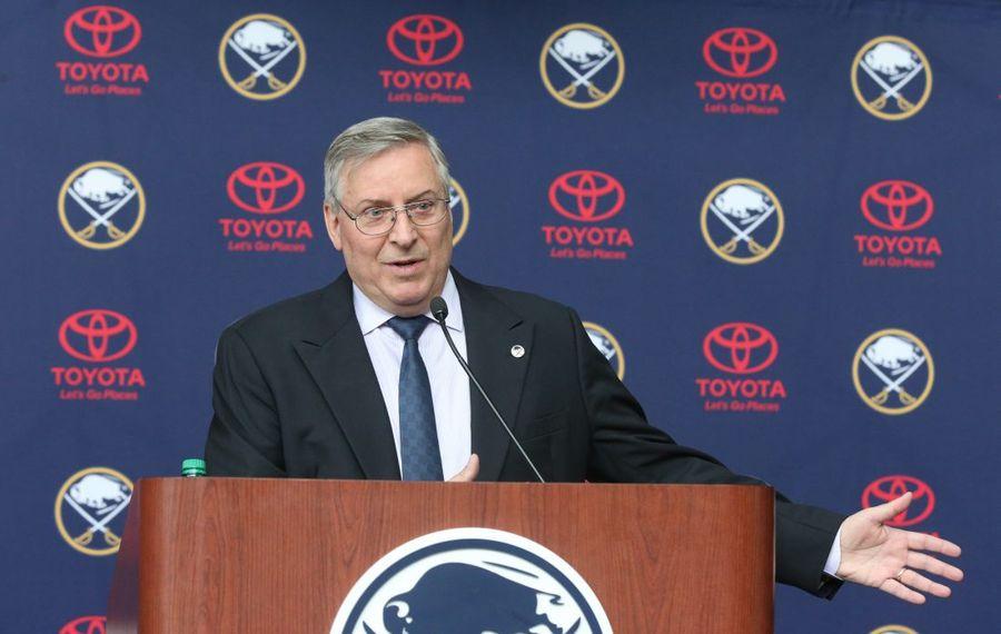 Sabres owner Terry Pegula helped create Penn State hockey. (James P. McCoy/Buffalo News file photo)