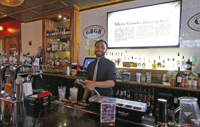 EXPO Market features the Gypsy Bohemian Grove Bar, which runs drink specials to complement the food vendors. (Robert Kirkham/Buffalo News)