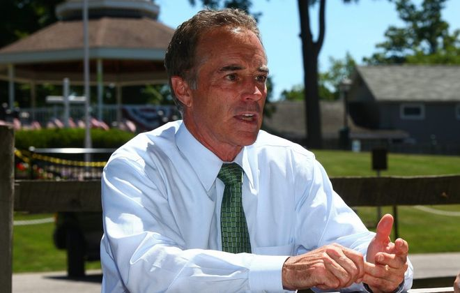 A spokesman for Rep. Chris Collins, above, said Collins, Innate's largest shareholder, had no inside knowledge about the company when discussing the stock with his son Cameron in a phone conversation off the House floor. (News file photo)
